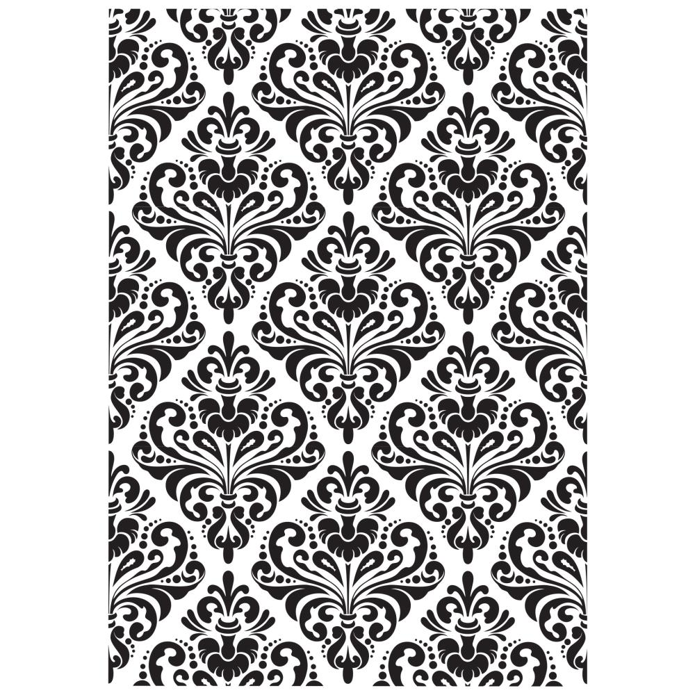 Plaque d'embossage KAISERCRAFT - Damask