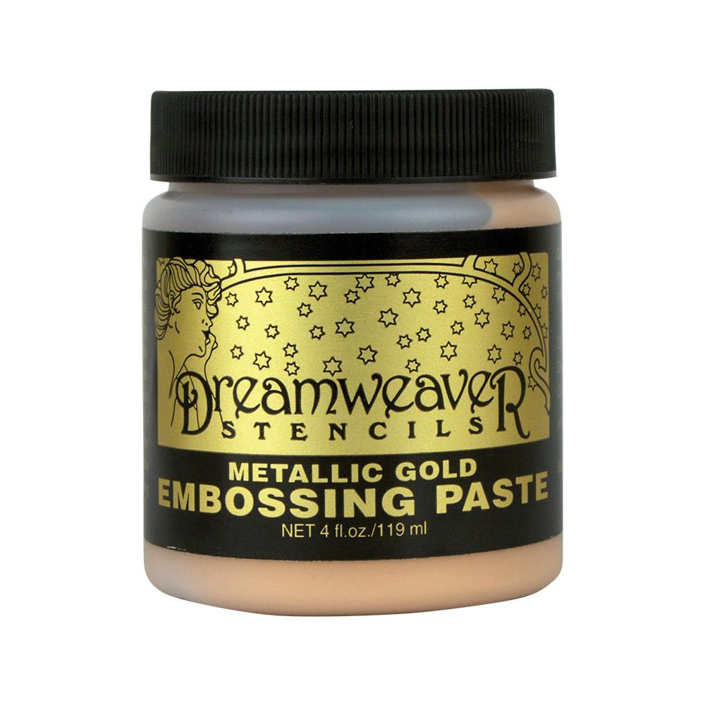 Embossing Paste - Metallic gold