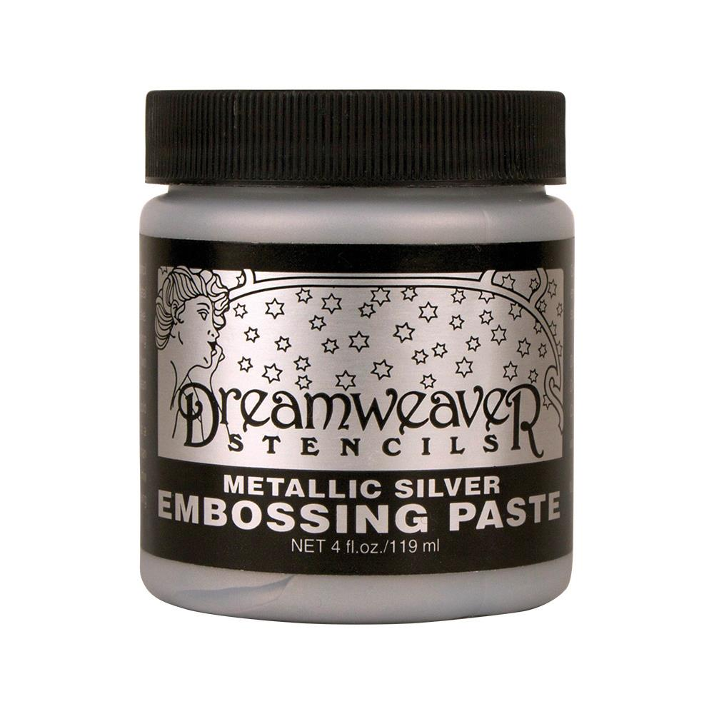 Embossing Paste - Metallic silver