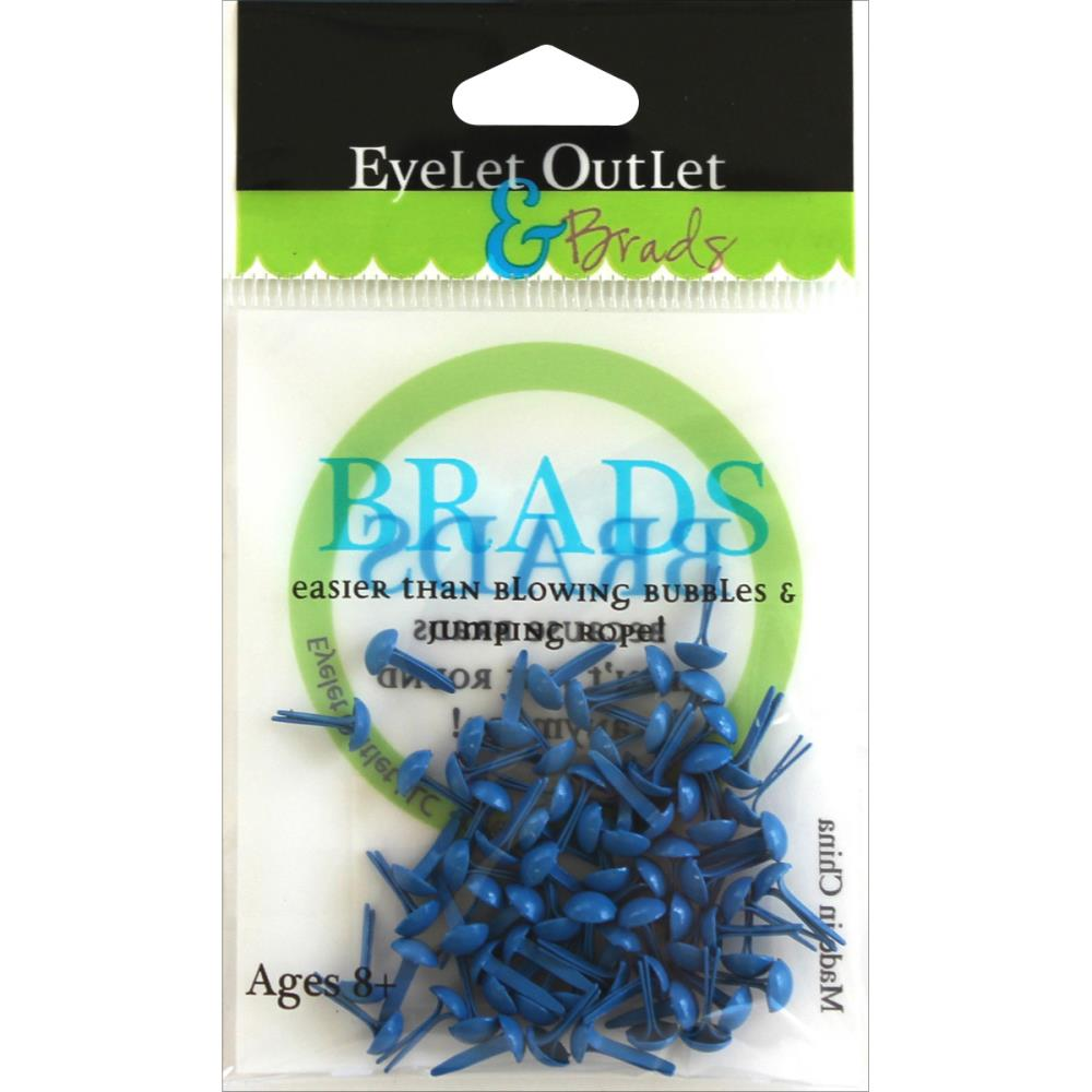 Brads 4 mm - Dark blue
