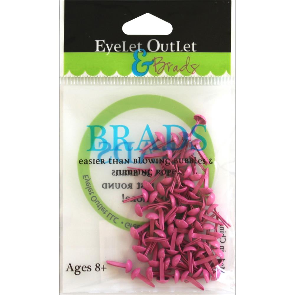 Brads 4 mm -rose fuschia