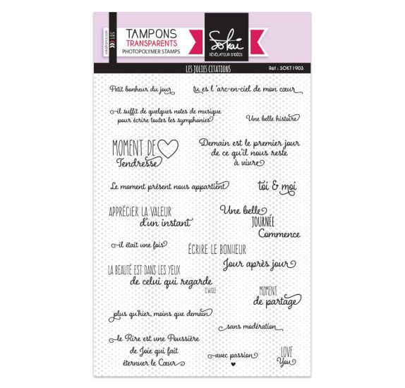 Tampons clear - Les jolies citations