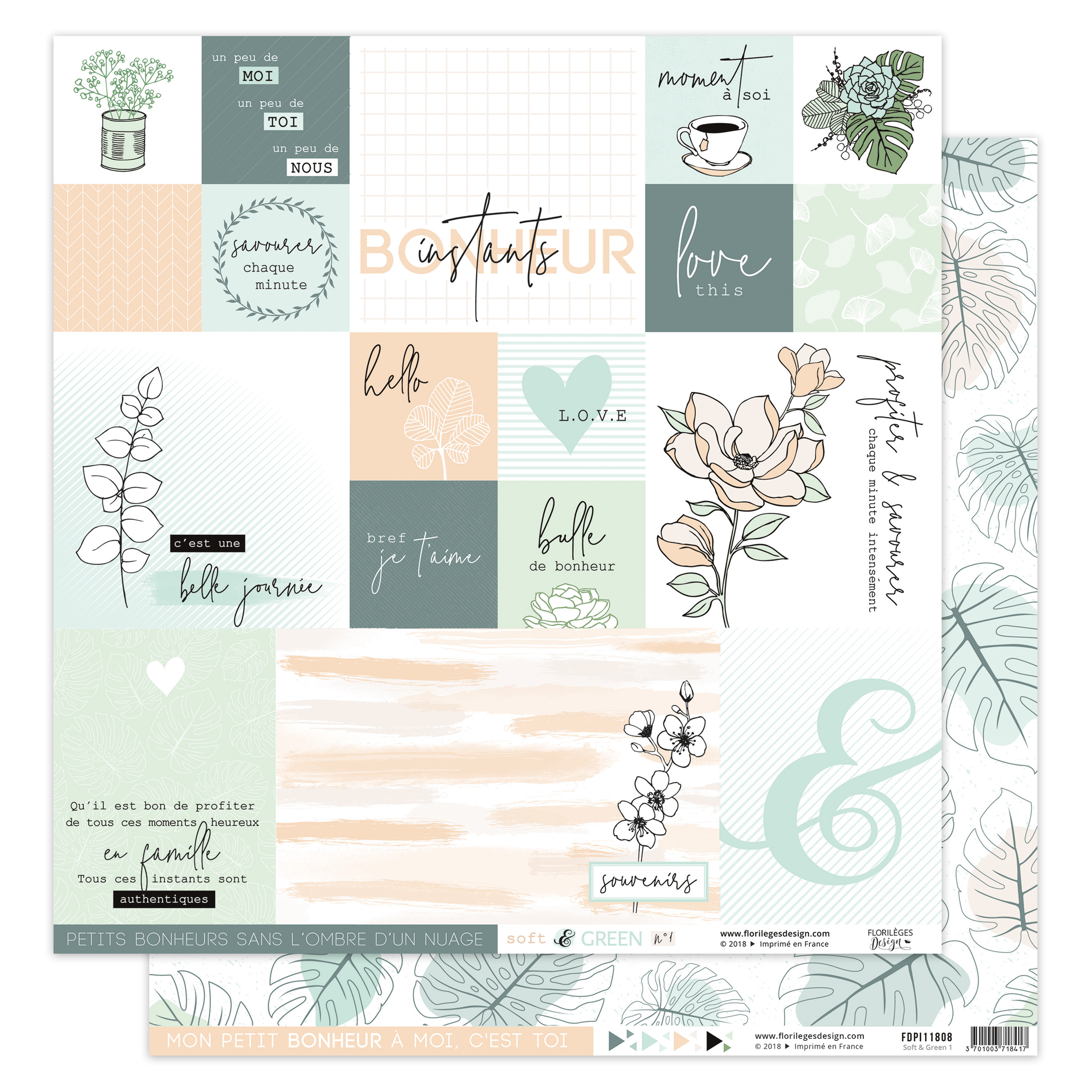 FLORILEGES - Soft & green 1