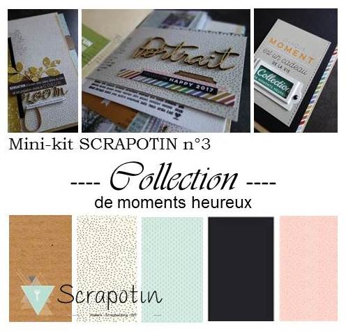 TUTO - MINI KIT N°3 - Collection de moments heureux