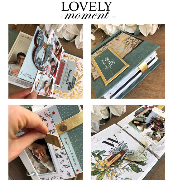 ATELIER en ligne LOVELY MOMENT (sans Kit)