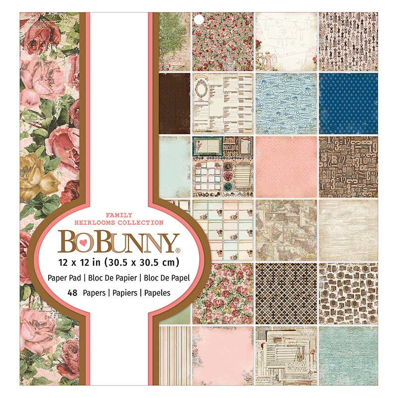 BO BUNNY- Pack Heirlooms collection