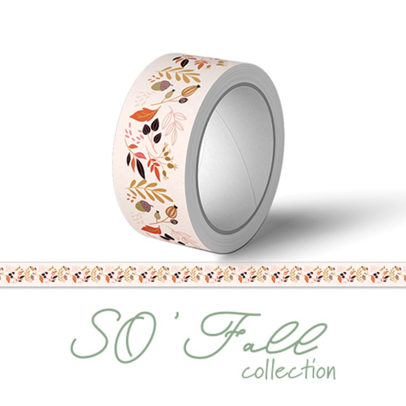 Masking tape SOKAI - SO'Fall Feuillages