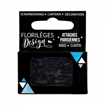 Mini attaches parisiennes Anthracite