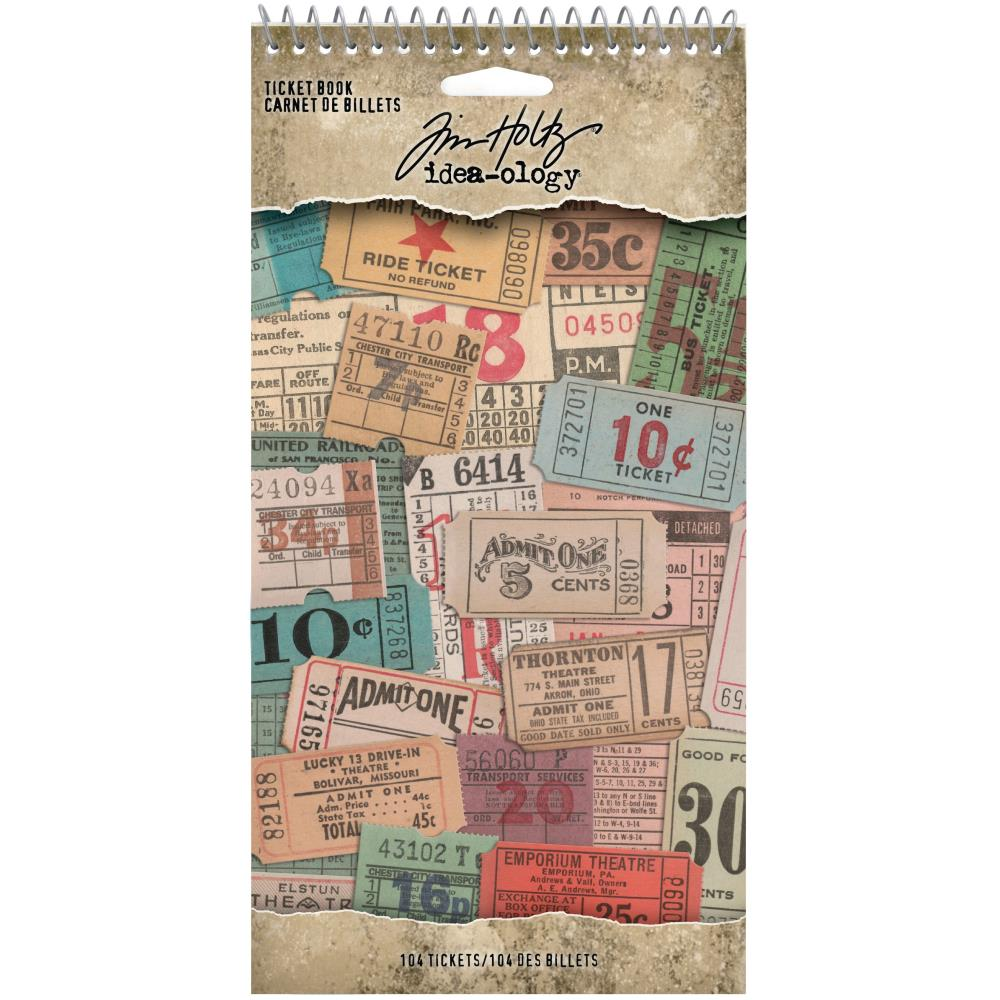 Tim Holtz - Ticket book