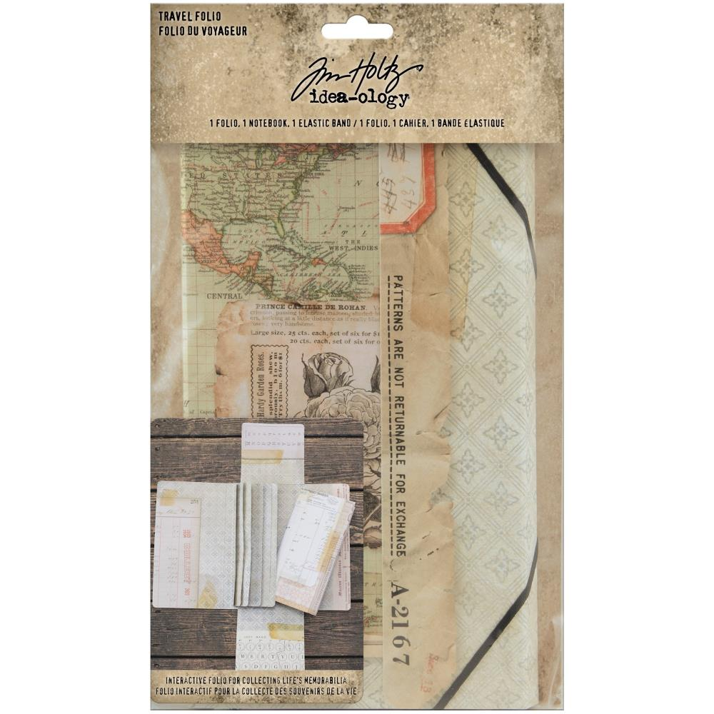 Tim Holtz - Travel Folio