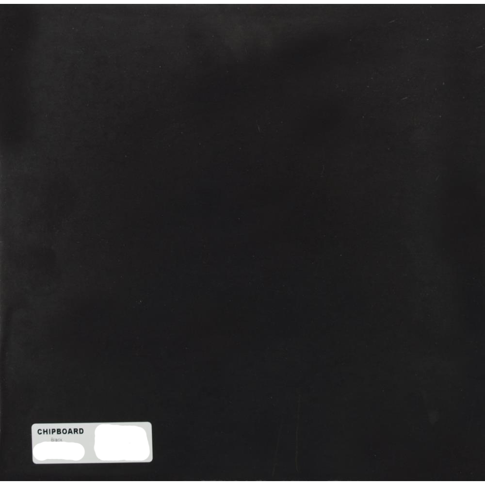 Cartonette 1mm noir 30.5 x 30.5 cm - Pack de 25